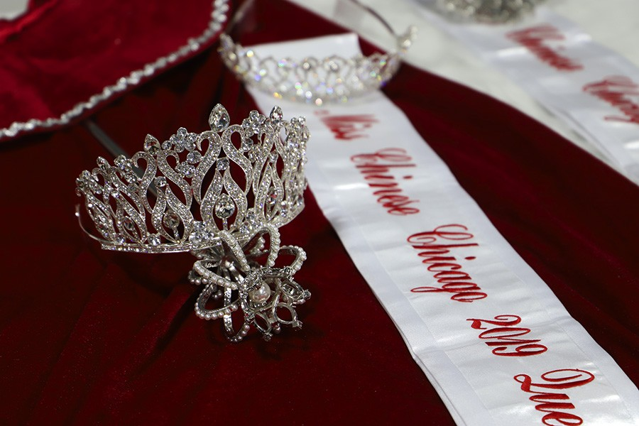 The crown, cape, and scepter for the queen - CAROLYN CHEN