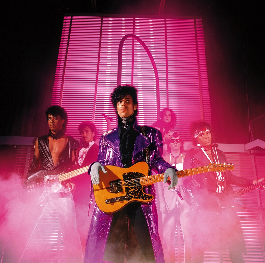 Prince and his band the Revolution during the 1999 era - ALLENBEAULIEU/RHINO