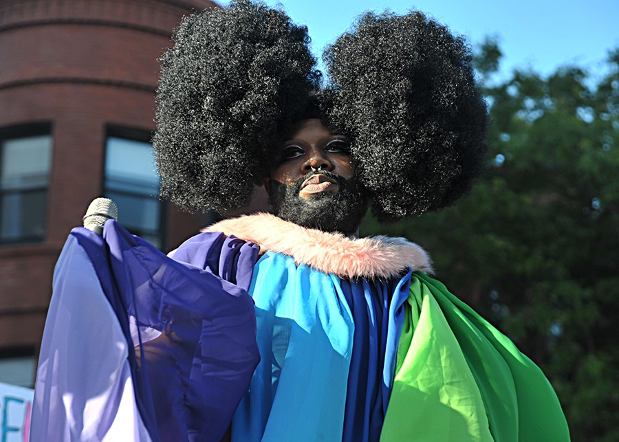 Lucy Stoole, co-chair of the Black Drag Council - VERN HESTER