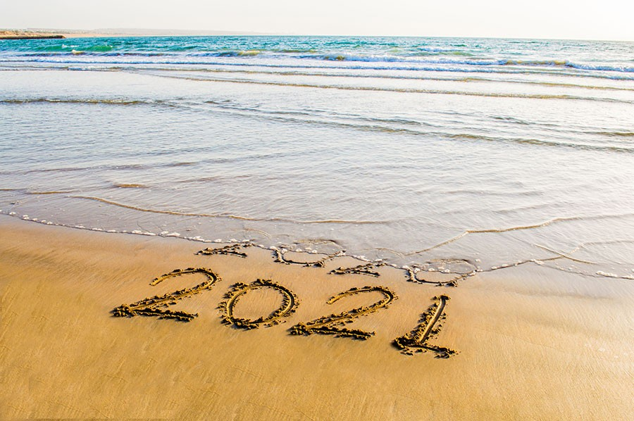 So long, 2020—hello, 2021! And sports, family, friends, holidays, music, plane rides, and more . . . - SHUTTERSTOCK