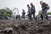 During Riot Fest 2014, rain mixed with heavy foot traffic disfigured Humboldt Park. Community outrage about inadequate repairs prompted the festival's move to Douglas Park last year.