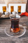 Kurdish and Turkish teas and coffees should be axiomatic with any sit-down at the Gundis.