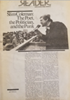 John Eisendrath's cover story on the radical community leader Slim Coleman, from the December 2, 1983, edition of the <i>Reader</i>.