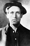 Labor activist Joe Hill wrote many of the most enduring anthems in the IWW's <i>Little Red Songbook</i>.