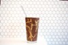 """The """"pretty convincing"""" vegan chocolate-peanut milkshake, made from soy milk, dates, cocoa, and maca root"""