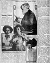 A Polish-language newspaper wrote about  Hubbard, his daughter, and two granddaughters, who helped him sort letters.
