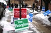 Campaign posts in the 41st Ward