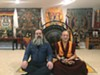 Jim Becker and Lama Lobsang Palden