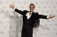 Pat Boone stays true to his frat in his Charleston screed