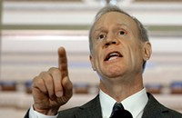Governor Rauner reiterates that he plans to keep his meeting schedule private
