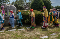 Hanging out with clowns in a cemetery during International Clown Week wasn't as terrifying as it sounds
