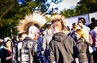 Photos of the Friday crowd at Riot Fest 2015