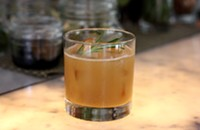 A warming, refreshing, award-winning fall cocktail recipe from Sable
