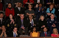 Let's talk about Michelle Obama's empty chair at the State of the Union address