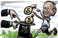 This would have been the year for Chicago's boondoggle Olympics