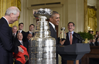 Blackhawks celebrate Stanley Cup victory at the White House, 64-year-old serial airplane stowaway arrested at O'Hare, and other Chicago news