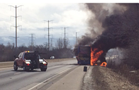 Megabus explodes en route to Minneapolis and other Chicago news