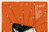 Murder by Death is shot with arrows on the gig poster of the week