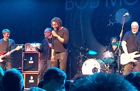 Sound man Che Arthur celebrates Prince—and his own birthday—onstage with Bob Mould