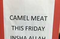 Hump it over to Eric Grill for camel meat Fridays