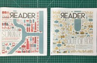Behind the cover art of the <i>Reader</i>'s Road Trips and Summer Guide issues