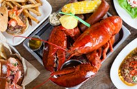 Consider the lobsters at Smack Shack