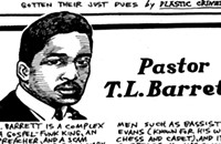 Pastor T.L. Barrett cut a widely sampled gospel-funk album in 1971