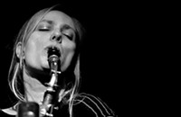 Alto saxophonist Julie Kjær earns the spotlight on her new trio album