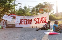 How protests in Ferguson inspired the occupation of 'Freedom Square'