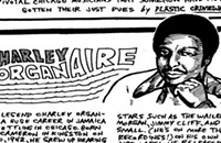 Charley Organaire helped introduce the harmonica to ska and reggae