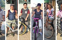 In Chinatown, cycling is favored by the young and old, but not always those in between
