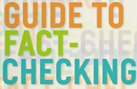 A guide to fact-checking arrives at the perfect time