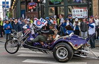 Flying the W: Scenes from Wrigleyville during the Cubs' World Series home games