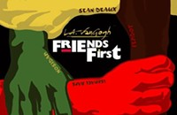 L.A. VanGogh helps his rapper pals help him on the new EP <em>Friends First</em>