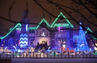 This Prince-themed Christmas lights display will help you get through this thing called life