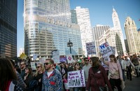 Turnout for the Women's March on Chicago exceeded all expectations, and other news