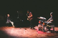 Young Chicago jazz trio Four Letter Words blend melancholia and turbulence