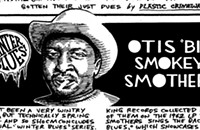 Otis 'Big Smokey' Smothers recorded with Howlin' Wolf even before his own first session