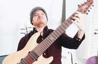 Chicago's most popular young metal guitarist plays on YouTube, not onstage