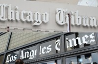 The <i>Chicago Tribune</i> likes Trump a lot more than the <i>Los Angeles Times</i> does