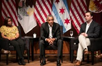 Obama at first public post-presidency appearance: 'It is wonderful to be home,' and other Chicago news