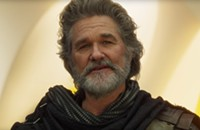 Playing an ancient space god, Kurt Russell walks away with <i>Guardians of the Galaxy Vol. 2</i>