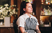 Pastry chef Sarah Mispagel pays tribute to her culinary mentor, Tony Galzin