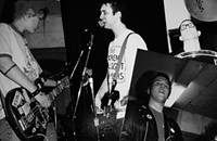Local punk-rock legends the Mushuganas abuse the stage one final time once again