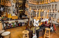 Best musical instrument shop