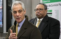 Mayor Rahm will gladly take all the credit even if someone else does the work