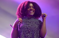 Noname's quiet strength won out over the din of Lollapalooza