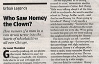 Urban Legends/ Who Saw Homey the Clown?