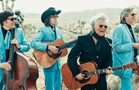 Country singer Marty Stuart salutes the cosmic vibe of America's southwest on <i>Way Out West</i>