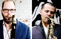 Chicago reedists Jason Stein and Greg Ward front a dynamic collective with New York's Eric Revis and Jim Black
